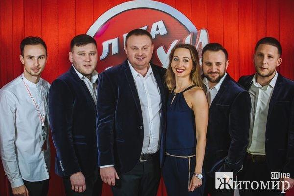 """Команда з Житомира """"30+"""" пройшла відбір на телепроект """"Ліга Сміху"""". ФОТО"""