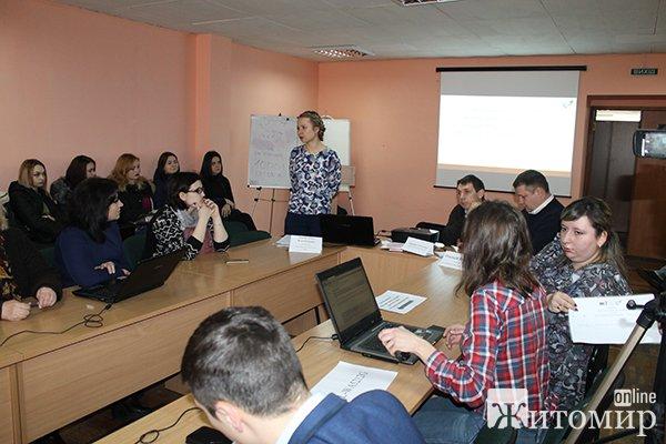 У Житомирі відбувся воркшоп КВУ за участі нардепів Верховної Ради України