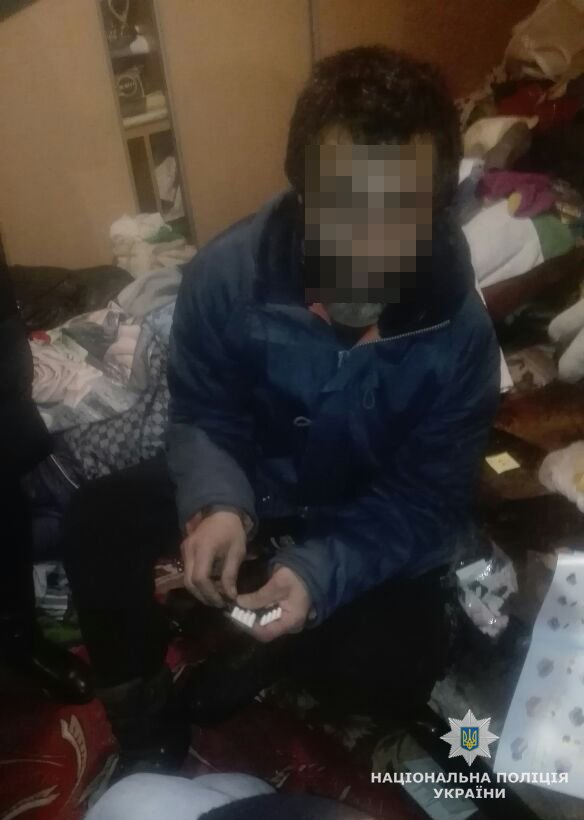В Житомирі у 39-річного іноземця знайшли наркотики і бульбулятор
