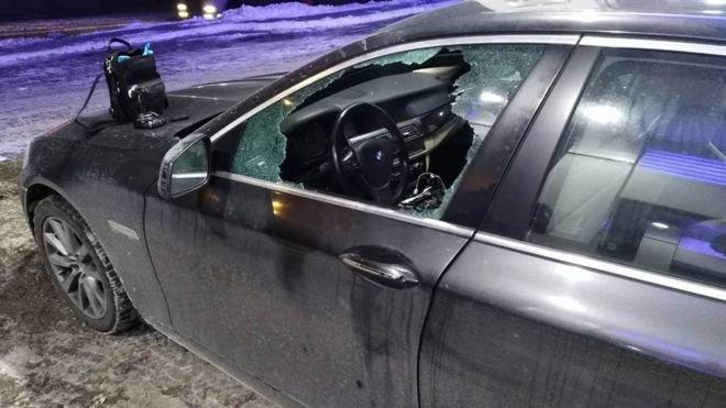Із авто на заправці в Києві вкрали 4 млн гривень