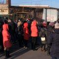 Люди заблокували автомобіль працівників «Житомиргазу», які приїхали відключити котельню дитсадка