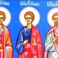 СЬОГОДНІ ПРАВОСЛАВНІ ХРИСТИЯНИ МОЛЯТЬСЯ ДО CВЯТИХ МYЧEНИКIВ ІННА, ПІННА ТА РИММА