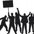 Акція протесту пенсіонерів силових структур в Житомирі. ВІДЕО