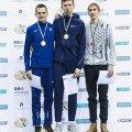 Бердичівські стрибуни виграли три медалі на чемпіонаті України з легкої атлетики в Сумах