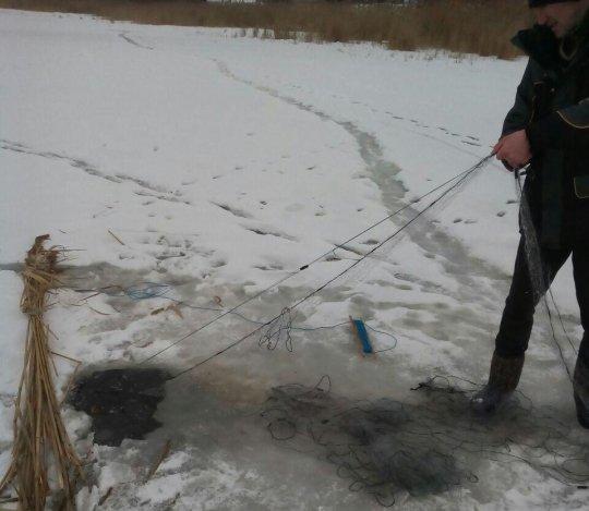 За лютий Житомирський рибоохоронний патруль викрив 164 порушення