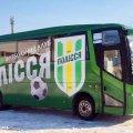 У мережі оприлюднили фото новенького автобуса житомирського ФК