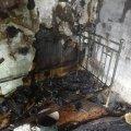 Під час ліквідації пожежі рятувальники знайшли мертвого пенсіонера