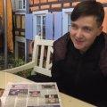 Що робила у Житомирі Надія Савченко?