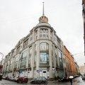 В центре Петербурга загорелся крупнейший универмаг