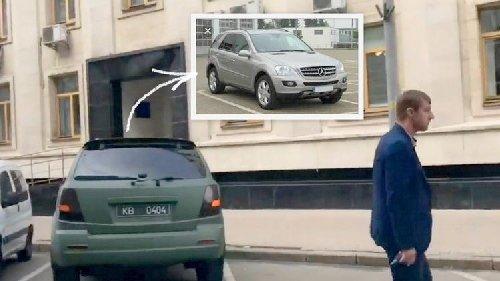 Нардеп Гаврилюк катается на внедорожнике Mercedes, который передавали в зону АТО