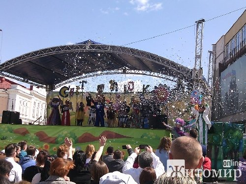 Театрали з різних куточків України: на Михайлівській пройшло урочисте відкриття ІІІ-го Всеукраїнсько ...