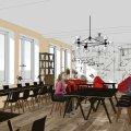 Копіцентр, дитяча зона і кафетерій: на Польовій планують відкрити сучасну бібліотеку