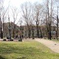 Сухомлин передумав залучати інвесторів до реконструкції скверу на розі вул. Лятошинського і Небесної Сотні