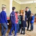 Мер Житомира зустрівся із вихованцями дитячо-юнацької школи із Донбасу. ФОТО