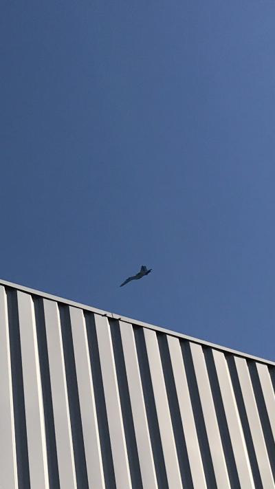Над Житомиром літають винищувачі
