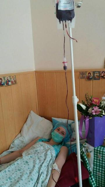 Хворій на рак 21-річній дівчині, потрібна кров ІІ позитивної групи та допомога