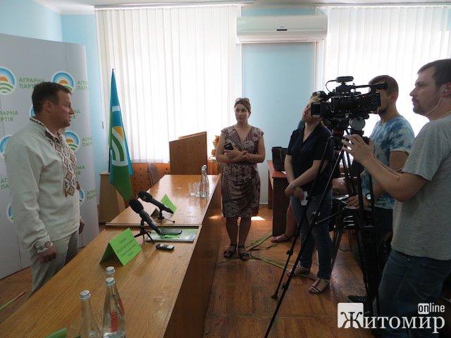 На Житомирщині обрали нове керівництво Аграрної партії. ФОТО