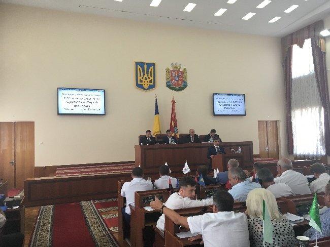 Депутати Житомирської обласної ради передали місту адмінприміщення Богунської і Корольовської рад