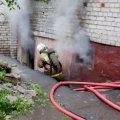 Бомж устроил пожар в подвале житомирской многоэтажки