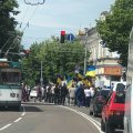 У Житомирі перекриті всі центральні вулиці. ФОТО