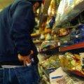 У Києві затримали 27-річного молодика, який крав продукти із магазинів на Житомирщині