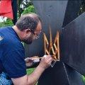 На Житомирщині встановили і відкрили пам'ятник місцевим загиблим воїнам УПА. ФОТО