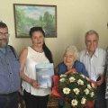 Житомирянка сьогодні відзначила 103-й день народження