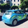 У Житомирі з'явилось еко-таксі. ФОТО