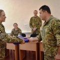 Старший лейтенант Альона Христюк – кращий військовий психолог ДШВ ЗС України