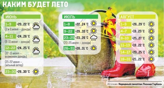 Июнь с дождями, а в августе — осень. Какой будет погода в Украине летом
