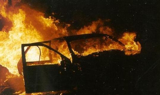 На Житомирщині горіло одразу три автомобілі