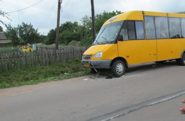 У райцентрі Житомирської області під колеса автобуса потрапила велосипедистка