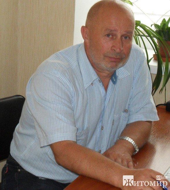 Відомому у Житомирі та області Анатолію Мельниченку сьогодні - 60!