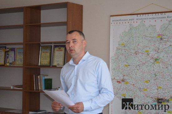 На декілька ділянок автотраси Житомир– Могилів-Подільський спрямують більше 40 млн грн, – заступник керівника САД Сергій Заїка