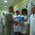 Житомирська обласна дитяча лікарня отримала відзнаку «Чиста лікарня, безпечна для пацієнта»