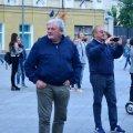 Фонтан на Михайлівській оглянув італієць, за кошт якого будували об'єкт