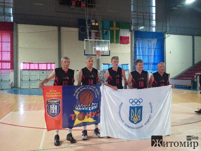 Житомиряни у складі збірної України здобули перемогу в Чемпіонаті Європи серед ветеранів у Хорватії