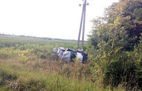 На Житомирщині легковик врізався в електроопору. Є загиблі