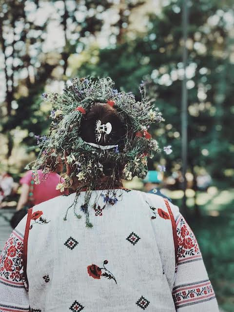 Свято Івана Купала в Гідропарку. ФОТО
