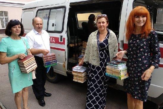 Понад 500 книг передали в будинкок пристарілих в Іванівці
