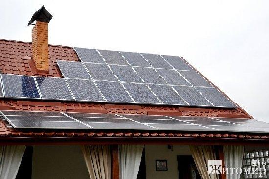 Найближчим часом на Житомирщині з'явиться ще 30 нових сонячних електростанцій