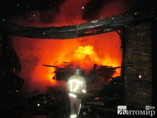 Пожежа в Пулинському районі Житомирської області: горіла сушарка деревинної продукції