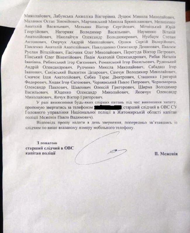 Нацполіція допитуватиме депутатів облради за виділені у 2016-му 200 тис. грн для однієї з сільрад