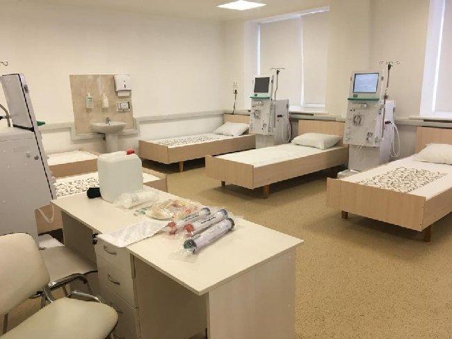 У Житомирі відкрили нове відділення гемодіалізу на 20 пацієнтів