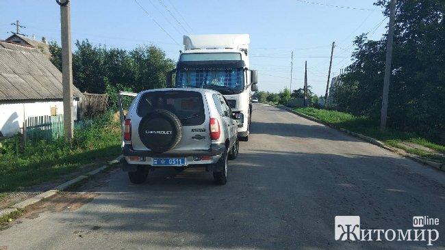 У Черняхові відбулось рейдерське захоплення вантажівки із пальним на понад мільйон гривень, – підприємець