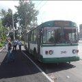 По вул. Промисловій уже курсують два тролейбусні маршрути