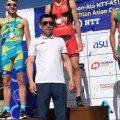 Житомирський триатлет виграв срібло на Кубку Азії з спринту