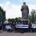 У Житомирі націоналісти вимагали від місцевої влади сприяти звільненню українців з російського полону