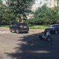 У Житомирі на нерегульованому переході зіткнулися позашляховик і мопед