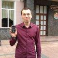 Відомому житомирському журналісту і політв'язню Муравицькому одягнули браслет. ФОТО. ВІДЕО